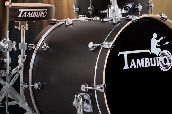 Tamburo-Drums-Formula-player-series-satin-black